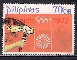 Philippines 1972 - Olympic Games - Munich, Germany - Filipinas