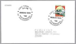 50 Años Muerte Piloto OMOBONO TENNI (1905-1948). Motociclismo - Motorcycling. Tirano, Sondrio, 1998 - Motos