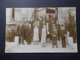 Carte Postale - Groupe - Photo à Localiser - (2580) - Photographie