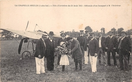 "LA CHAPELLE-HEULIN   -  Fête D'Aviation Du 21 Août 1913 - L'Aviateur "" A. MANEYROL "" - Aviation , Avion - France"