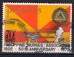 Philippines 1972 - The 50th Anniversary Of Philippine Nurses Assocation - Filipinas