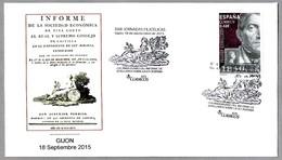 220 Años INFORME DE JOVELLANOS SOBRE LA LEY AGRARIA. Gijon, Asturias, 2015 - Historia