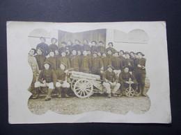 Carte Postale - Groupe Militaires - Photo à Localiser - (2581) - Photographie