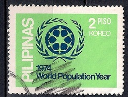 Philippines 1974 - World Population Year - Filipinas
