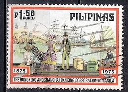 Philippines 1975 - The 100th Anniversary Of Hong Kong And Shanghai Banking Corporation's Service In The Philippines - Filipinas