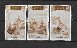 LOTE 1819  ///  (C150)  CHINA 2010 //  YVERT Nº: 4777 / 4779 **MNH - 1949 - ... República Popular