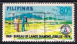 Philippines 1976 - The 75th Anniversary Of Lands Bureau - Filipinas