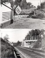 LA GRAVE D'AMBARES ?  LORMONT  GENICART - 2 Photos - Le Pont De LA RAMADE - Travaux - Photos P. Gontier (111045) - Frankreich