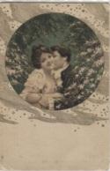 CPA - FANTAISIE ILLUSTREE - COUPLE AMOUREUX - Edition Viennoise V.W - Couples