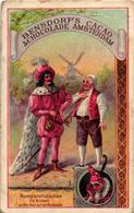 12 Cards C1888 Cacao Bensdorp's RUMPELstielzchen Repesteeltje  Fairy Tale  Sprookje, Voor Duitstaligen - Komplete Reeks - Chocolate