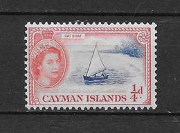 LOTE 1819  ///  (C020)  ISLAS CAIMAN  1950 //  YVERT Nº: 126 **MNH - Iles Caïmans