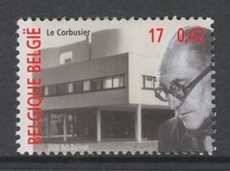 TIMBRE NEUF DE BELGIQUE - L'ARCHITECTE LE CORBUSIER N° Y&T 2951 - Architecture