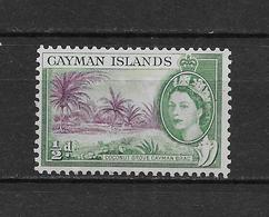 LOTE 1819  ///  (C045)  ISLAS CAIMAN  1953 //  YVERT Nº: 141 **MNH - Cayman Islands