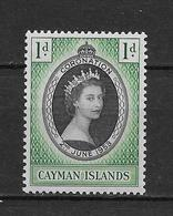 LOTE 1819  ///  (C035)  ISLAS CAIMAN  1953 //  YVERT Nº: 139 **MNH - Caimán (Islas)
