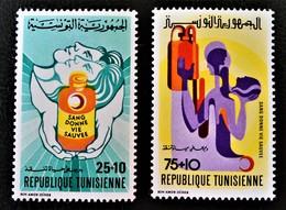 CROISSANT-ROUGE TUNISIEN 1974 - NEUFS * - YT 719/20 - MI 778/79 - Cameroon (1960-...)