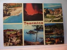 """Cartolina Viaggiata """"TAORMINA"""" 1974 - Other Cities"""