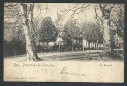 +++ CPA - SPA - Promenade Des Fontaines - Le Tonnelet - Nels Série 27 N° 39  // - Spa