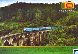 Sri Lanka Postcards, Nine Arch Bridge, Ella, Trains, Postcrossing - Sri Lanka (Ceylon)