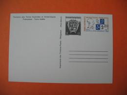 Entier Postal 1989  -  TAAF - Terre Adélie  Amiral Max  Douget - Entiers Postaux