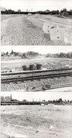LA GRAVE D'AMBARES - 3 Photos - Travaux - Train - Photos Pierre Gontier (111046) - Frankreich
