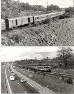 LA GRAVE D'AMBARES - SAINTE EULALIE - 2 Photos - Travaux - Train - Autos - Photos Pierre Gontier (111047) - Frankreich