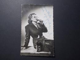 Carte Postale - LILY FAYOL - Publicité St Raphael - Autographe (2583) - Künstler