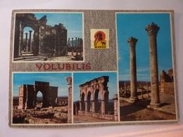 "Cartolina Viaggiata ""VOLUBILIS"" 1979 - Marocco"