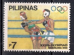 Philippines 1992 - Olympic Games - Barcelona, Spain - Filipinas