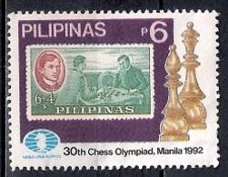 Philippines 1992 - The 30th Chess Olympiad, Manila - Filipinas