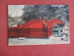 Japan   Sacred Bridge Nikko  Ref 3129 - Japan