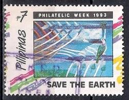 Philippines 1993 - Philatelic Week - Save The Earth - Filipinas