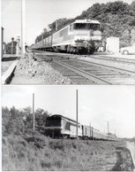 LA RAMADE- SAINTE EULALIE - CARNON BLANC 2 Photos -Train - Photos Pierre Gontier (111048) - Frankreich