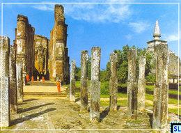 Sri Lanka Postcards, Lankathilake, Polonnaruwa, UNESCO, Postcrossing - Sri Lanka (Ceylon)