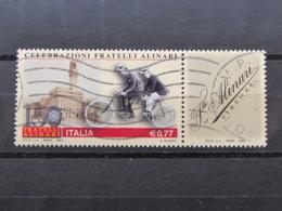 *ITALIA* USATI 2003 - 150° FRATELLI ALINARI - SASSONE 2670 - LUSSO/FIOR DI STAMPA - 6. 1946-.. Repubblica