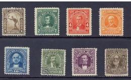 LOTE 1820  ///  (C130)  COSTA RICA 1910  //  YVERT Nº: 65/72  ¡¡¡ OFERTA !!! - Costa Rica