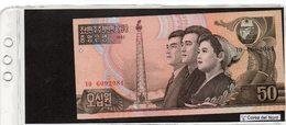 Banconota Corea Del Nord 50 Won  UNC - Corée Du Nord