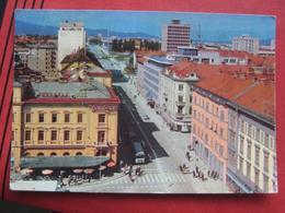 Ljubljana / Laibach - Titova Cesta / Autobus - Slowenien