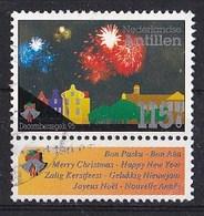 Nederlandse Antillen - Decemberzegels 1995 - Vuurwerk - Gebruikt - NVPH 1112 - Curaçao, Nederlandse Antillen, Aruba