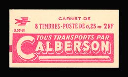 FRANCE CARNET N° 1263-C1 Decaris (II) Série 05-61. Carnet De 8 Timbres. Neuf **. Pub Calberson. Cote Yvert 50 €. TTB - Booklets