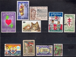Philippines Stamps - Lot 03 - Filipinas