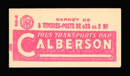 FRANCE CARNET N° 1263-C1 Decaris (II) Série 02-61. Carnet De 8 Timbres. Neuf **. Pub Calberson. Cote Yvert 50 €. TTB - Carnets