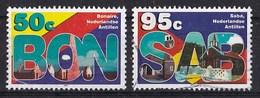 Nederlandse Antillen - Standaardserie - Bonaire/Saba - Gebruikt - NVPH 1474/1476 - Curaçao, Nederlandse Antillen, Aruba