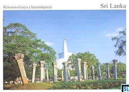 Sri Lanka Postcards, Anuradhapura, UNESCO, Postcrossing - Sri Lanka (Ceylon)