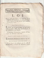 Loi Portant Sur Qu'il Sera Versé à La Trésorerie... - Decrees & Laws