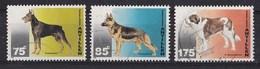 Nederlandse Antillen - Honden - Dobermann/Duitse Herder/Sint-Bernardshond - Gebruikt - NVPH 1085/1086/1088 - Honden