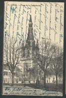 +++ CPA - LIEGE - Place De La Cathédrale   // - Liege