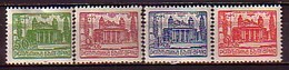 BULGARIA \ BULGARIE - 1947 - Serie Courante - Theatre National - 4v** - Unused Stamps