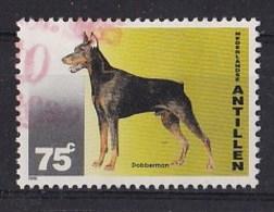 Nederlandse Antillen - Honden - Dobermann - Gebruikt - NVPH 1085 - Honden