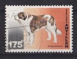Nederlandse Antillen - Honden - Sint-Bernardshond - Gebruikt - NVPH 1088 - Honden