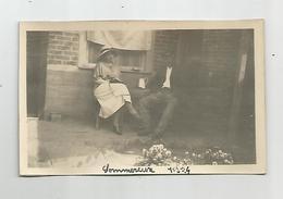 Photographie 60 Oise Sommereux  1924  Photo   Collée Sur Papier 7x11 Cm Env - Places